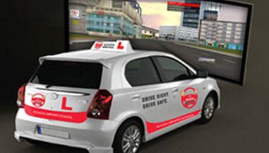 Simulation on real car
