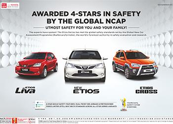 Toyota India Print Ads