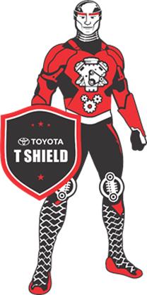 t-shield mascot
