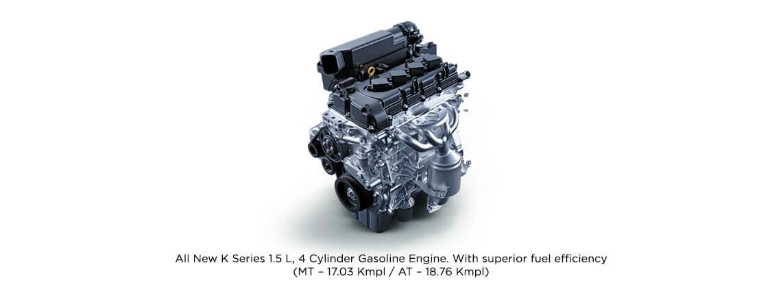 Powerful 1.5 L Gasoline Engine - Toyota Urban Cruiser