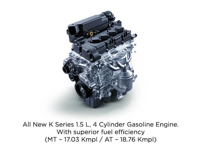 Powerful 4-cylinder 1.5 L Gasoline Engine - Toyota Urban Cruiser