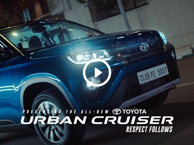 Toyota Urban Cruiser - Live
