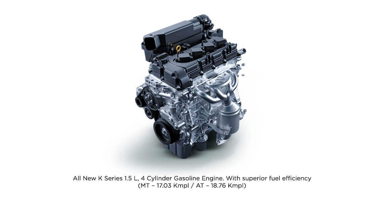 Powerful K-series 4-cylinder 1.5 L Gasoline Engine - Toyota Urban Cruiser