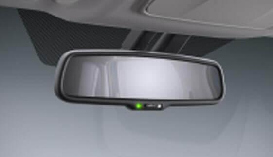 Electro Chromatic Rear View Mirror