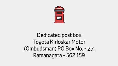 Dedicated post box